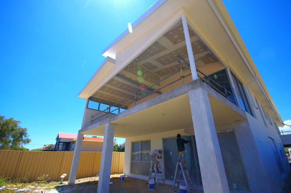 Internal & External Painting of Newly Built Home in Trigg | Decoria